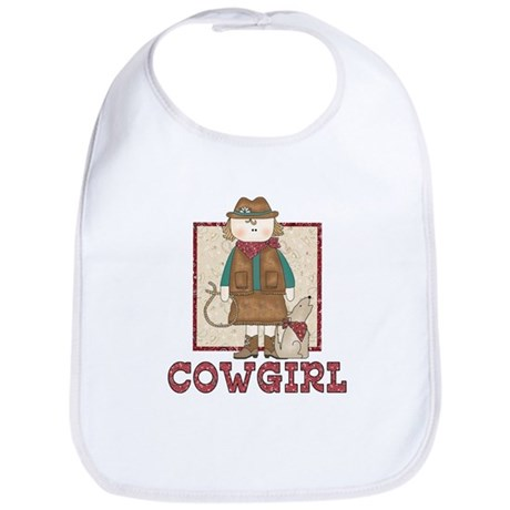 Cowgirl and Coyote Bib