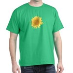 Elegant Sunflower Dark T-Shirt