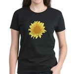 Elegant Sunflower Women's Dark T-Shirt