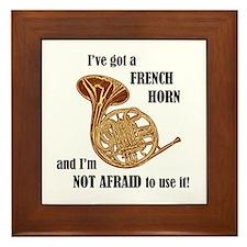 I've Got a French Horn Framed Tile