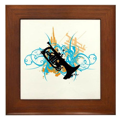 Urban Mellophone Framed Tile