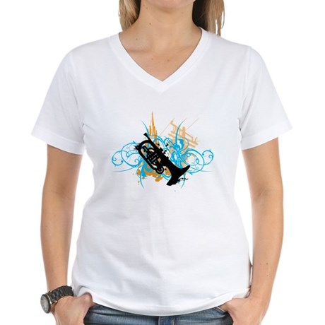 Urban Mellophone Women's V-Neck T-Shirt