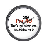 Unique Funny sayings Wall Clock
