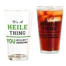 Unique Heil Drinking Glass