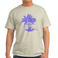 Violet Palm Beach Silhouette T-Shirt