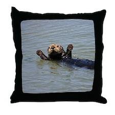 OTTERVILLE Throw Pillow