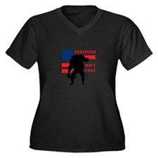 FREEDOM ISNT FREE Plus Size T-Shirt