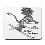 King Of The Slopes Mousepad