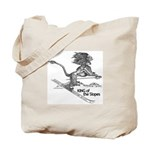King Of The Slopes Tote Bag