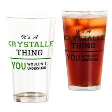 Cute Krystal Drinking Glass