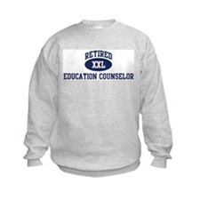 Retired Education Counselor Sweatshirt