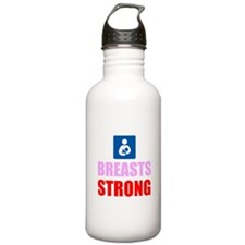 Breasts Strong Water Bottle