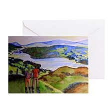 Lake District Valentine Card Greeting Cards