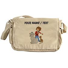 Custom Dog Groomer Messenger Bag