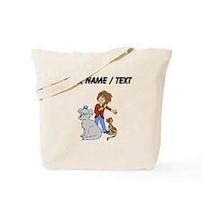 Custom Dog Groomer Tote Bag