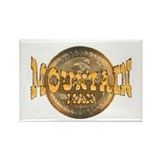 mountain man logo Rectangle Magnet (100 pack)