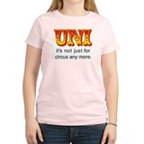 No Clowns! Pink Unicycle T-Shirt
