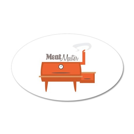 Meat Master Wall Decal