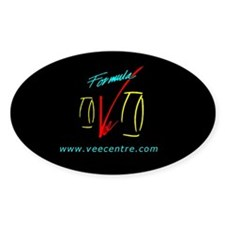 Oval Vee Centre Decal