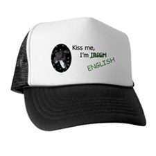 Kiss Me Whippet Trucker Hat