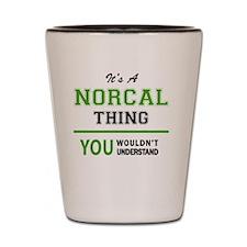 Cute Norcal Shot Glass