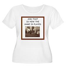 bocce joke Plus Size T-Shirt