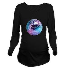 Disco Ball (personalizable) Long Sleeve Maternity