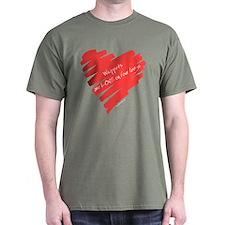 Whippet Love on 4 Legs T-Shirt