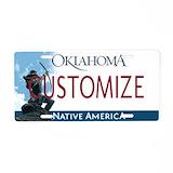 Oklahoma License Plates