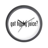 Got Hyphy Juice? Wall Clock