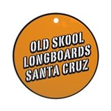 Old Skool Longboards Ornament (Round)