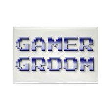 Gamer Groom Rectangle Magnet (100 pack)