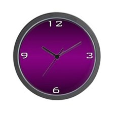 Deep Purple Wall Clock