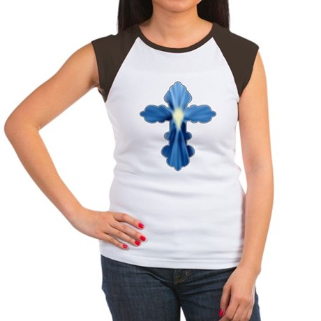 Holy Spirit Cross Women's Cap Sleeve T-Shirt