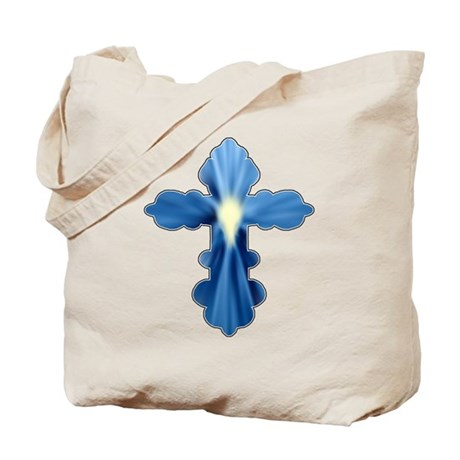 Holy Spirit Cross Tote Bag