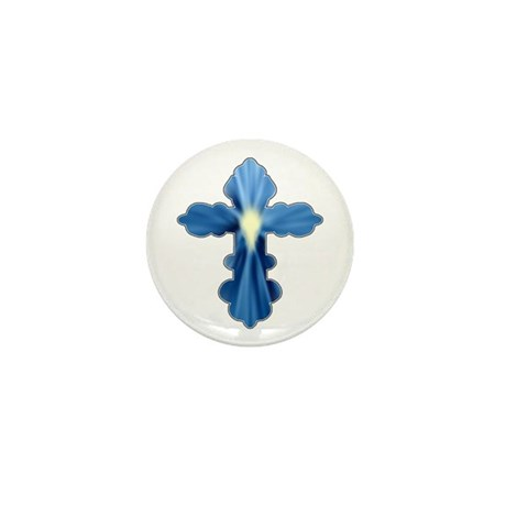 Holy Spirit Cross Mini Button (100 pack)