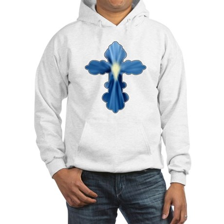 Holy Spirit Cross Hooded Sweatshirt