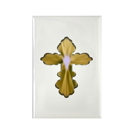 Holy Spirit Cross Rectangle Magnet