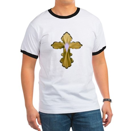 Holy Spirit Cross Ringer T