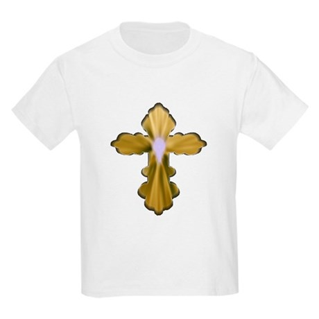 Holy Spirit Cross Kids Light T-Shirt