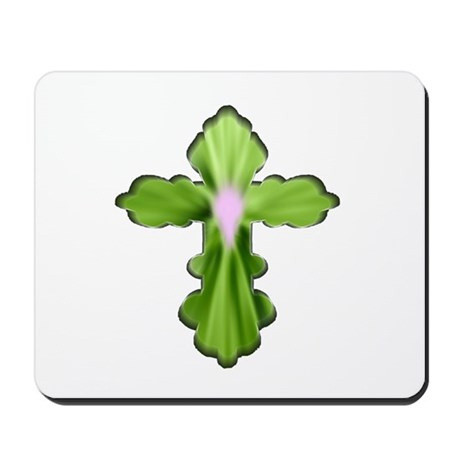 Holy Spirit Cross Mousepad