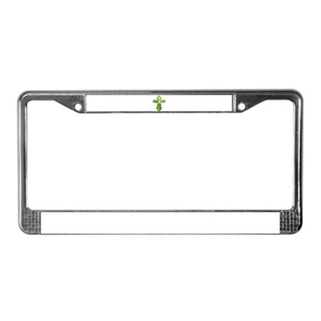 Holy Spirit Cross License Plate Frame