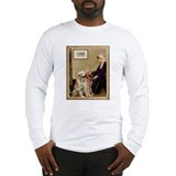 Whistlers Mother &amp; 2 Goldens Lg Sleeve T-Shirt