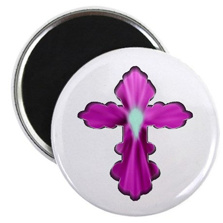 "Holy Spirit Cross 2.25"" Magnet (100 pack)"