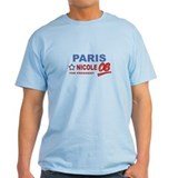 Paris and Nicole for presiden T-Shirt