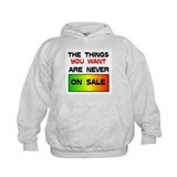 NEVER ON SALE Hoodie