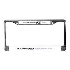 Elantra XD License Plate Frame