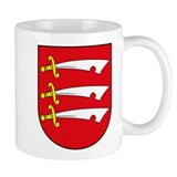 Essex County Coat of Arms Mug