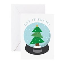 Let it snow ! Greeting Cards