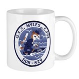 USS MYLES C. FOX Coffee Mug